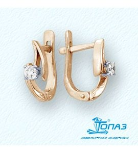 Серьги с бриллиантами Т141021781