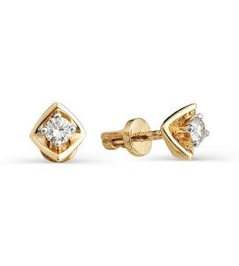 Серьги с бриллиантами Т141021792