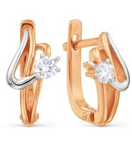 Серьги с бриллиантами Т141021802