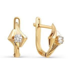 Серьги с бриллиантами Т141021807