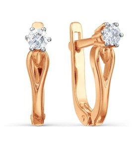 Серьги с бриллиантами Т141021809