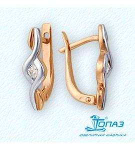 Серьги с бриллиантами Т141021926