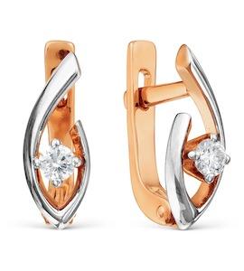 Серьги с бриллиантами Т141021943