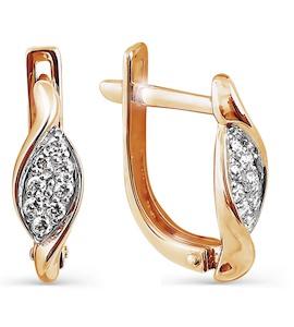 Серьги с бриллиантами Т141024510