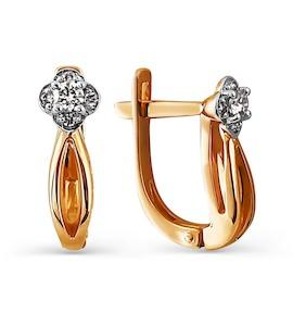 Серьги с бриллиантами Т141024827