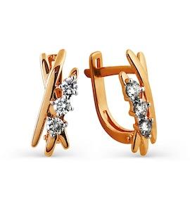 Серьги с бриллиантами Т141024962