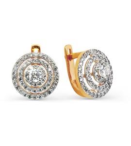 Серьги с бриллиантами Т141025014
