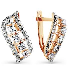 Серьги с бриллиантами Т141025074
