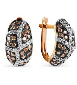 Серьги с бриллиантами Т141025111-01
