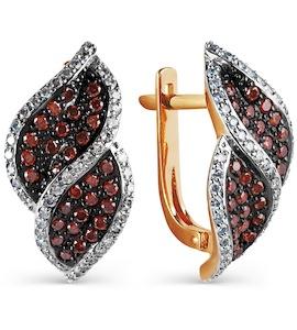 Серьги с бриллиантами Т141025114