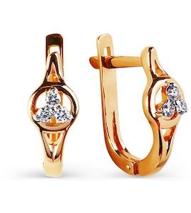 Серьги с бриллиантами Т141025176