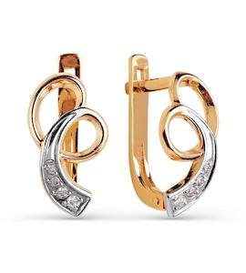 Серьги с бриллиантами Т141025236