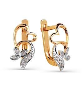 Серьги с бриллиантами Т141025241