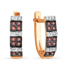 Серьги с бриллиантами Т141026415