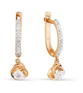 Серьги с бриллиантами Т141026640