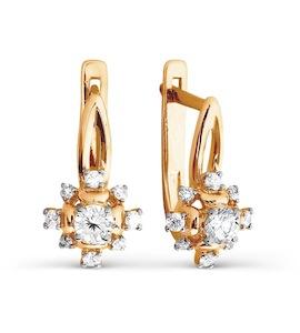 Серьги с бриллиантами Т141026713