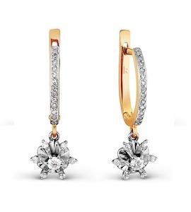 Серьги с бриллиантами Т141026725
