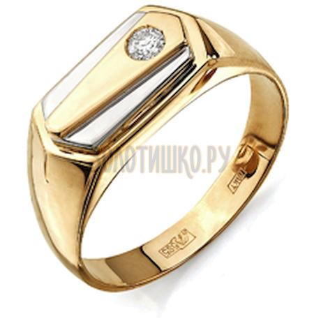Кольцо с бриллиантом Т141043119