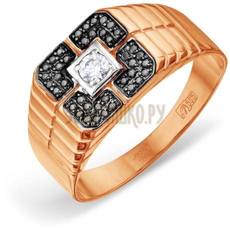 Кольцо с бриллиантами и Swarovski Zirconia Т141046684