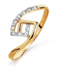 Кольцо с фианитами Т142015457