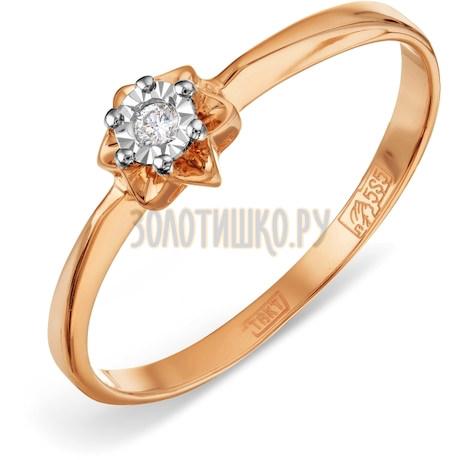 Кольцо с бриллиантом Т145611621