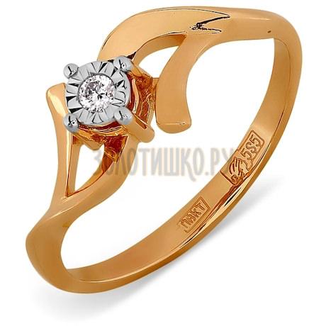 Кольцо с бриллиантом Т145611706