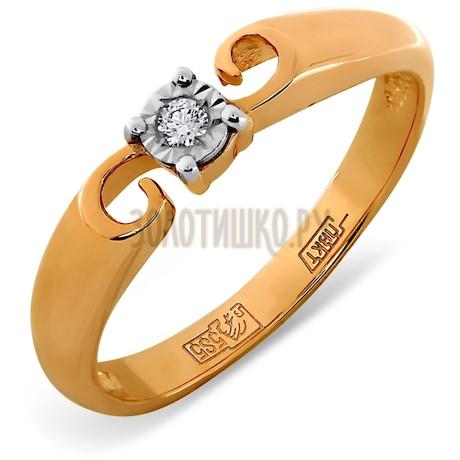 Кольцо с бриллиантом Т145611710