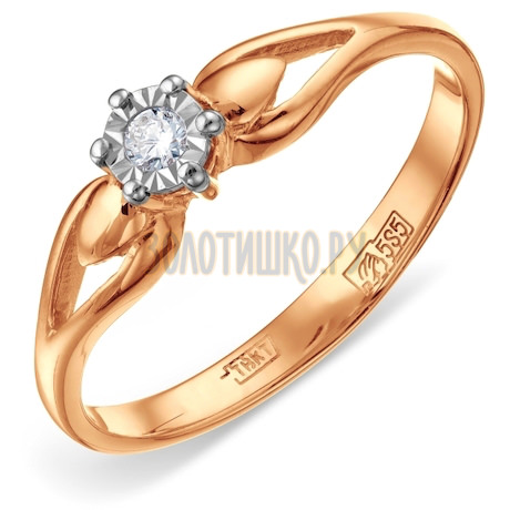 Кольцо с бриллиантом Т145611711