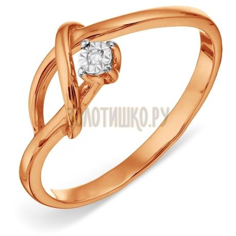 Кольцо с бриллиантом Т145611826