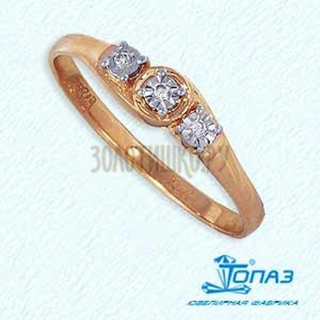 Кольцо с бриллиантами Т145612629