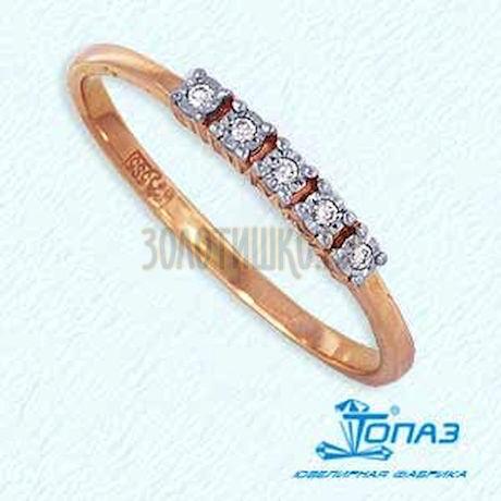 Кольцо с бриллиантами Т145612633