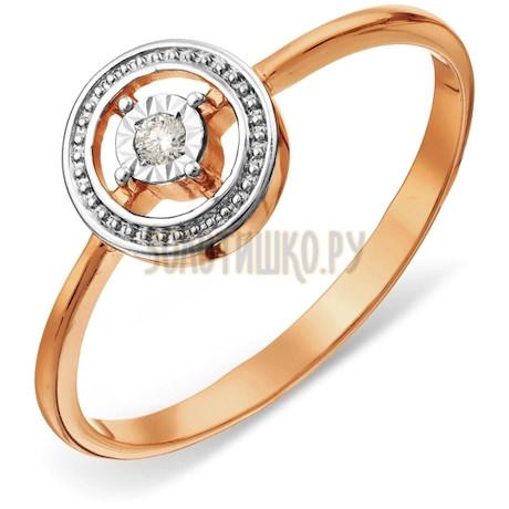 Кольцо с бриллиантом Т145613408