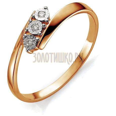 Кольцо с бриллиантами Т145613419
