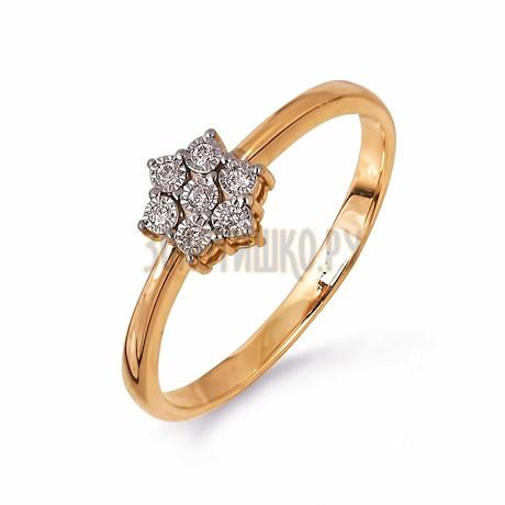 Кольцо с бриллиантами Т145613506