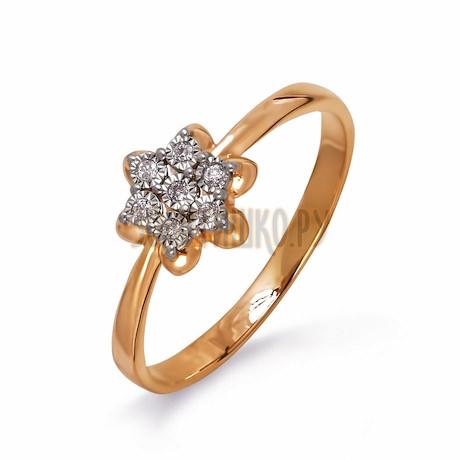 Кольцо с бриллиантами Т145613512