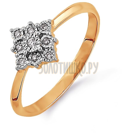 Кольцо с бриллиантами Т145613514