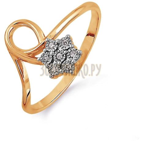 Кольцо с бриллиантами Т145613521