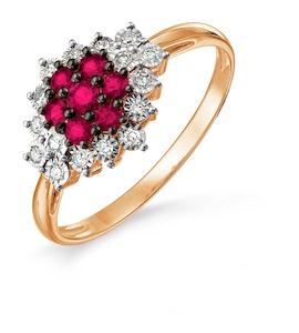 Кольцо с изумрудами и бриллиантами Т145617667_3