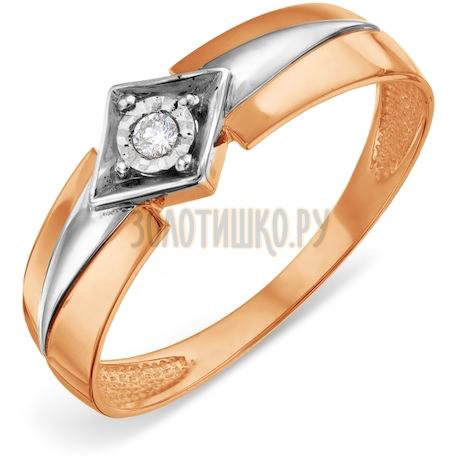Кольцо с бриллиантом Т145618554