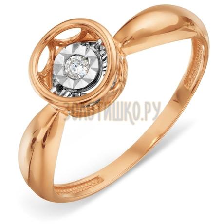 Кольцо с бриллиантом Т145618647