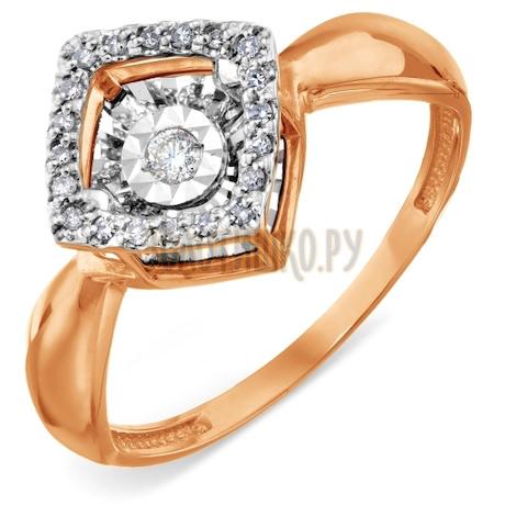 Кольцо с бриллиантами Т145618649