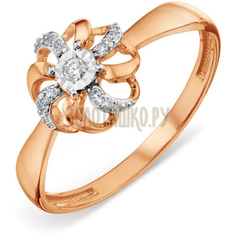 Кольцо с бриллиантами Т145618934