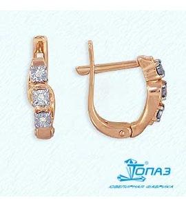 Серьги с бриллиантами Т145623486