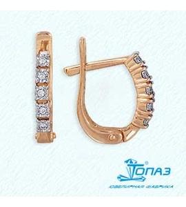 Серьги с бриллиантами Т145623490