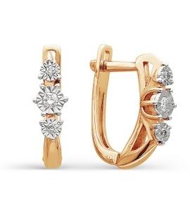 Серьги с бриллиантами Т145624187
