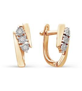 Серьги с бриллиантами Т145624189