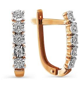 Серьги с бриллиантами Т145624206