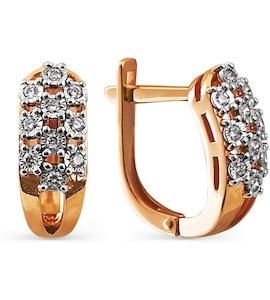 Серьги с бриллиантами Т145624215