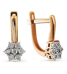 Серьги с бриллиантами Т145624294