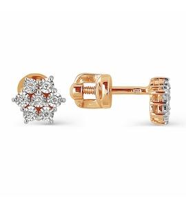 Серьги с бриллиантами Т145624295